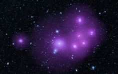 Galaxies clumped together in the Fornax cluster