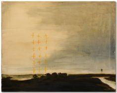"Michael Dowling | ""Untitled Landscape 2"" I Oil, 16 x 20"""