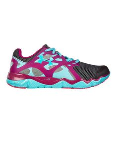 Look what I found on #zulily! Charcoal Micro G Monza Night Running Shoe by Under Armour® #zulilyfinds