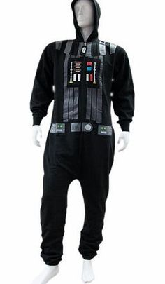 Pop Art Products Star Wars Darth Vader Onesie (Black) - Large Even the Dark Lord of the Sith Darth Vader has to take time out of his day so zip up and chill out in this fleece all in one Onesie....Star Wars Black Darth Vader Adult (Barcode EAN = 5055696525431) http://www.comparestoreprices.co.uk//pop-art-products-star-wars-darth-vader-onesie-black--large.asp
