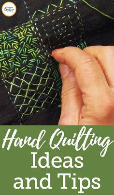 Back in the day, quilters didn't have many of the luxuries we now take for granted, but they still made beautiful quilts. Now, we opt to hand quilt not out of necessity, but for the nostalgia and it's soft look. If you been looking to try out hand quilting but don't know where to start, don't worry, we've got you covered! Not only can you learn to hand quilt, but we've got quilting tutorials for hand quilted embroidery, hand applique techniques, hand quilting designs, and more!