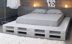 DIY Pallet Bed, A Versatile Choice Of Decoration