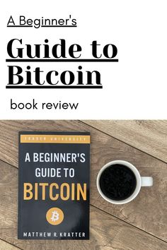 """Ever wonder: Is Bitcoin considered money? Is Bitcoin a good investment? Or, how to buy Bitcoin? Mr. Kratter's book covers this and more. This book review covers some key points I enjoyed in the book, """"A Beginner's Guide to Bitcoin."""" #bitcoin #cryptocurrency"""