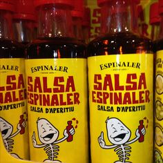 Espinaler, salsa aperitiu