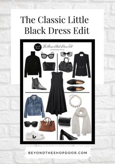 A Classic Little Black Dress is a fashion icon of sorts. regardless of your age, size, and shape. it's an item that every woman needs in their wardrobe! Cos Stores, Love Clothing, Travel Wardrobe, 2020 Fashion Trends, Effortless Chic, Black Models, Every Woman, Passion For Fashion, Style Icons