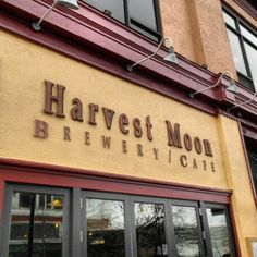 Harvest Moon Brewery in New Brunswick, NJ. Awesome brewed beers, that they change every season, with equally delicious food. A favorite place of mine!