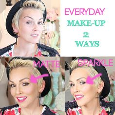 Everyday Make-Up 2 Ways: Day to Night..step by step how to:
