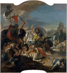 Giovanni Battista Tiepolo, The battle of Vercellae, 1725-1729.
