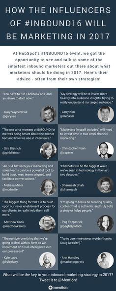 10 Marketing Insights for 2017 From Gary Vaynerchuk, Ann Handley & More #Infographic - http://marketinghits.com/blog/10-marketing-insights-for-2017-from-gary-vaynerchuk-ann-handley-more-infographic/