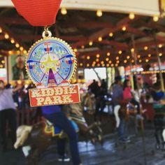 Kiddie Park Fiesta medal 2016
