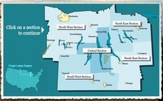 An interactive map of the Finger Lakes!  Map Instructions    1. Choose a Section    2. Choose a category to show markers of businesses and attractions.    3. Click on an icon for more information