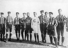 evolucion de los uniformes de futbol 1930