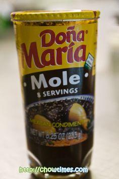 Mother in law chicken mole Mole Recipe Peanut Butter, Mexican Cooking, Mexican Food Recipes, Dona Maria Mole, Mole Sauce, Semi Homemade, Easy Eat, Comida Latina, Latin Food