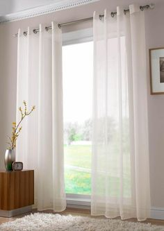 Items similar to High Twist Sheer Voile Curtain, 2 Extra Long Sheer Curtain for High Ceiling ;Solid on Etsy , High Twist Sheer Voile Curtain 2 Extra Long Sheer Curtain for White Sheer Curtains, Voile Curtains, Long Curtains, Curtains With Blinds, Cheap Curtains, Bedroom Curtains, Valance, Voile Panels, Modern Bedrooms