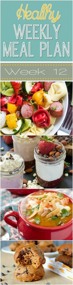 Need new meal ideas? Check out our Healthy Weekly Meal Plan that's full of healthy breakfast, lunch & dinner recipes just for you - plus snack & dessert recipes too!