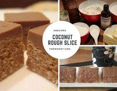 Coconut Rough Slice Recipe Easy Video Instructions