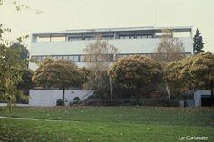 18ヴァイセンホーフのジードルンク Weissenhof Siedlung (1927) Le Corbusier / Stuttgart Germany No.1/13 : 近代建築ゼミ Modern Architecture