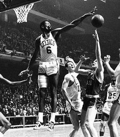 Bill Russell, Boston Celtics.