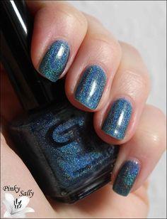 Glitter Gal - Teal Blue
