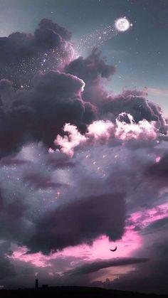 Iphone Wallpaper App, Cloud Wallpaper, Aesthetic Iphone Wallpaper, Galaxy Wallpaper, Wallpaper Backgrounds, Purple Wallpaper, Girl Wallpaper, Wallpaper Quotes, Decent Wallpapers