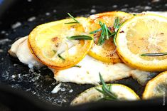 Tilapia with Browned Butter and Lemon Sauce Recipe
