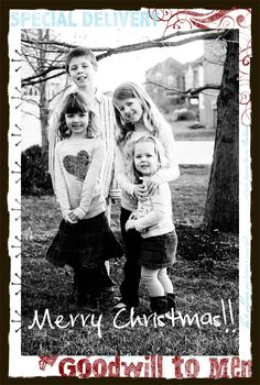 From Our Family To Yours - holiday card - dineanddish.net