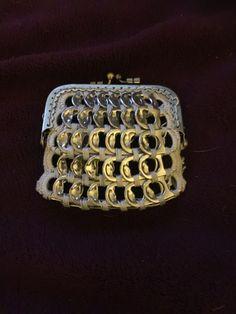 Porte-monnaie en capsules de canette DIY