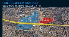 New retail development in Cedar Park on 1431 and US 183 Toll. Cedar Park Texas, Local News, Day Trips, City Photo, The Neighbourhood, Things To Do, Retail, Marketing, Style