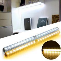 New Portable Motion Sensor LED Night Light - Nightliteusa Closet Lighting, Porch Lighting, Bar Lighting, Wall Sconce Lighting, Strip Lighting, Wardrobe Bed, Cupboard Wardrobe, Wardrobe Cabinets, Cabinet Closet