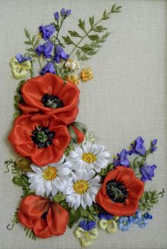Sewing | Embroidery | Silk Ribbon