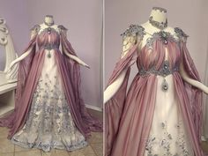Firefly Path Rose Armor Gown as seen on Pretty Outfits, Pretty Dresses, Beautiful Outfits, Old Dress, Dress Up, Fantasy Gowns, Medieval Dress, Prom Dresses, Wedding Dresses