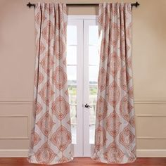 Terracotta Curtains | Wayfair