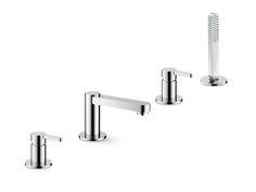 #ERGO Set vasca a 4 fori by #NEWFORM #bath #design