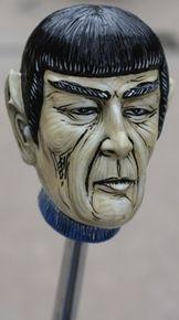 """""""Crash"""" Dr Spock Shift Knob"""