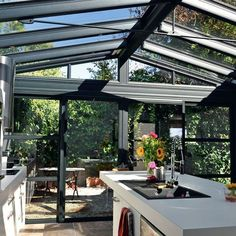 Telheiros madeira pesquisa google decor pinterest madeira pergolas a - Cuisine dans veranda ...