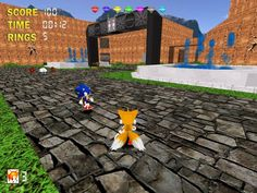 Sonic The Hedgehog 3D for Windows Sonic the Hedgehog 3D is a free fan game about a famous SEGA mascot, Sonic, and it is made on Build Engine with additional EDuke 32 port. The game was inspired by two classic Sonic series: Mega Drive/Genesis and Sonic Adventure series. #retrogaming #videogames