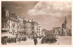 CONSTANTA VECHE: Piața Ovidiu, inima orașului. Ce a fost, ce este și cum ai vrea să fie? Sud Est, Bucharest, Indiana, Street View, Memories, Places, Buildings, Cousins, Memoirs