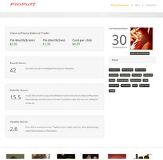 """A 20-year-old launches Pinpuff, a """"Klout for Pinterest"""""""