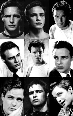 the faces of brando