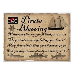 Honorary Pirate Certificate (No name needed) Beach Party Games, Tween Party Games, Bridal Party Games, Princess Party Games, Backyard Party Games, Engagement Party Games, Dinner Party Games, Graduation Party Games, Halloween Party Games