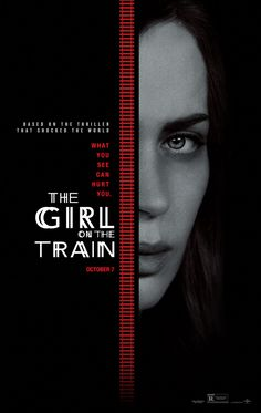 The Girl on the Train movie poster, best movie posters 2016, Kettle Fire Creative blog