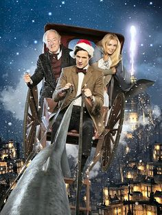 2010 Christmas special MICHAEL GAMBON AND THE DOCTOR!!!