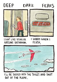 People's Deepest and Darkest Irrational Fears Are Turned into Humorously Relatable Comics