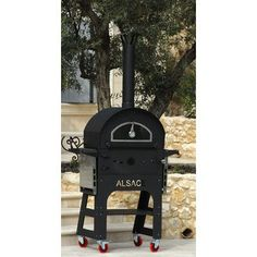 L'Art du Jardin Outdoor Wood-Fired Ovens Alsace Authentic European Style Outdoor Wood-Fired Oven and Grill