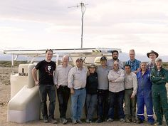 The Auger Observatory has deployed its first SSD stations Scientists, Fields, Wedding Ring
