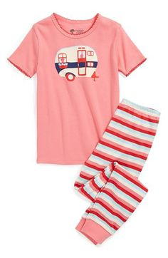 c1e46bc237 Tucker + Tate Two-Piece Fitted Pajamas (Little Girls  amp  Big Girls)