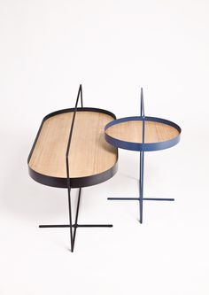 Basket Tables http://www.mariotsai.studio/works/basket/  Also take a look at: 13 Stylish Overlapping Coffee Tables  http://vurni.com/overlapping-coffee-tables/