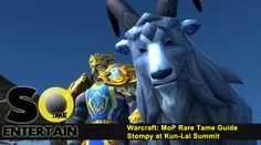World of Warcraft: MoP - How to tame Stompy (Guide)