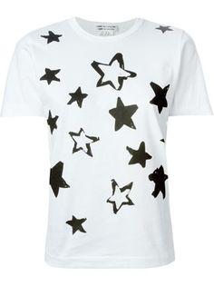 Comme Des Garçons Comme Des Garçons 星柄 プリントtシャツ - O' - Farfetch.com