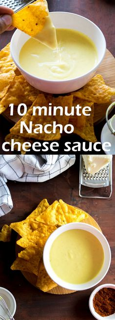 10 minute Nacho cheese sauce 10 minute nacho cheese sauce which is perfect for game night or parties for dipping tortilla/nacho chips and building up Loaded nachos Mexican Cheese Sauce, Homemade Nacho Cheese Sauce, How To Make Cheese Sauce, Homemade Nachos, Homemade Tortilla Chips, Homemade Sauce, Cheesy Chips, Cheesy Nachos, Tortilla Nachos